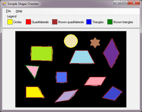 opencv pc sample application download